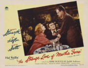 The Strange Love of Martha Ivers film noir postcard