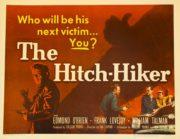 The Hitch-Hiker film noir postcard