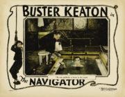 The Navigator Buster Keaton lobby card