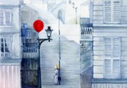 Le ballon rouge inspired illustration – Irina Georgescu – Classiq Journal